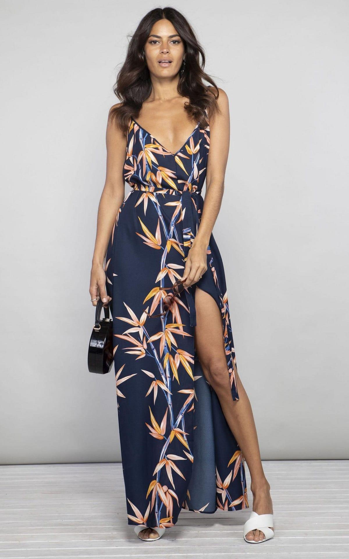 Destination Wedding Guest Styles - Spaghetti Strap Dress