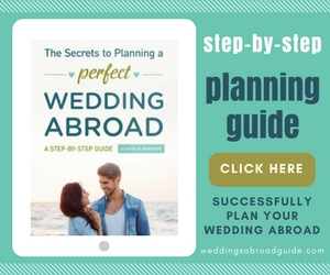 Step-by-Step Planning Guide - The Essential must have Easy to Follow Planning Guide for Organising a Destination Wedding Abroad by Weddings Abroad Guide