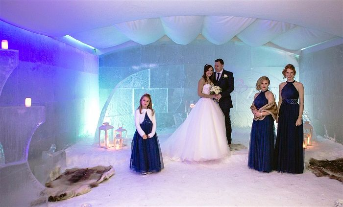 Sun And Snow Weddings Crete Amp Lapland Weddings Abroad Guide