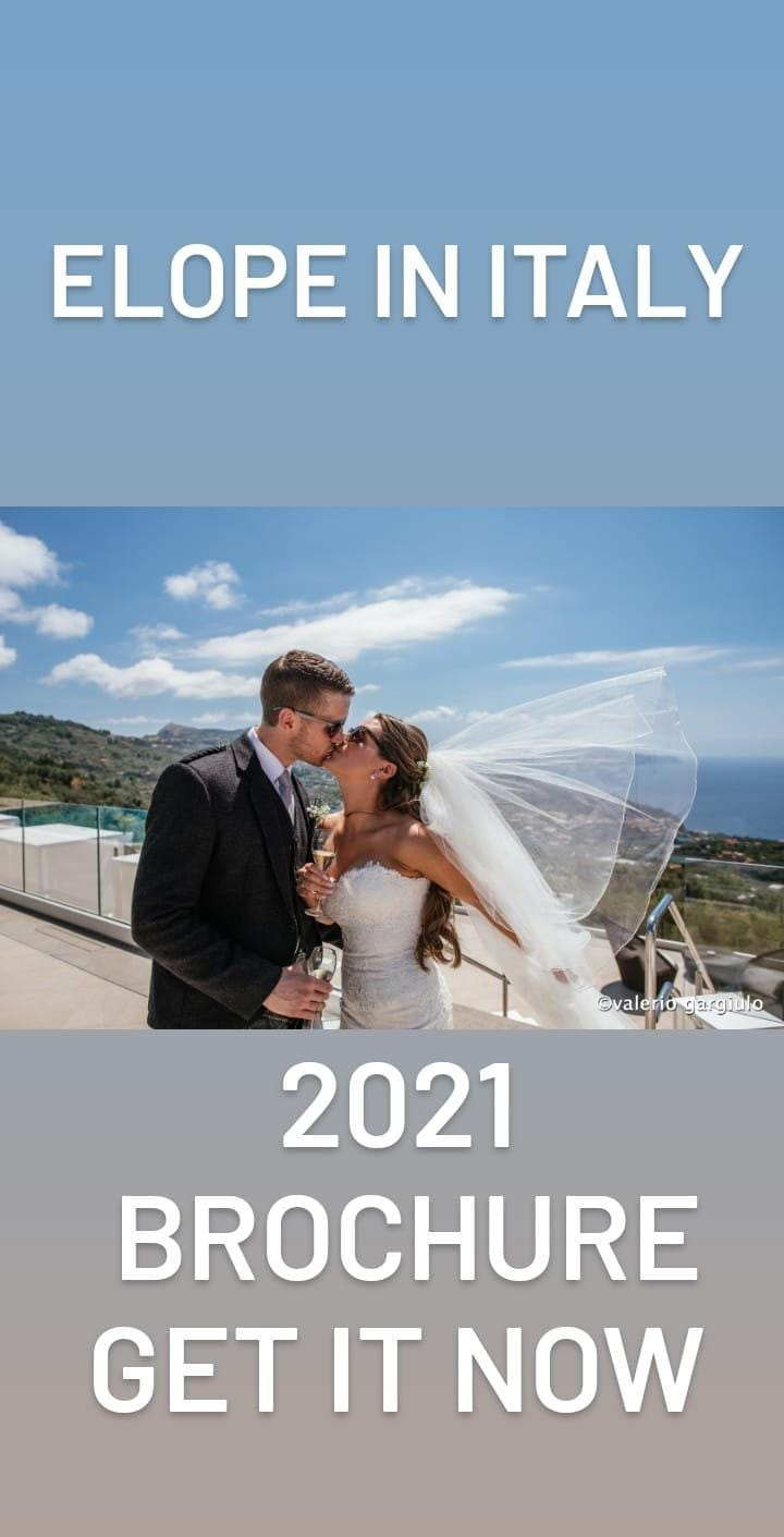 Just Get Married Italy 2021 Elopement Packages
