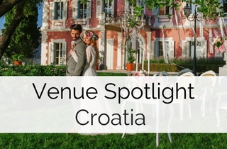 Venue Spotlight - Wedding Villa in Croatia