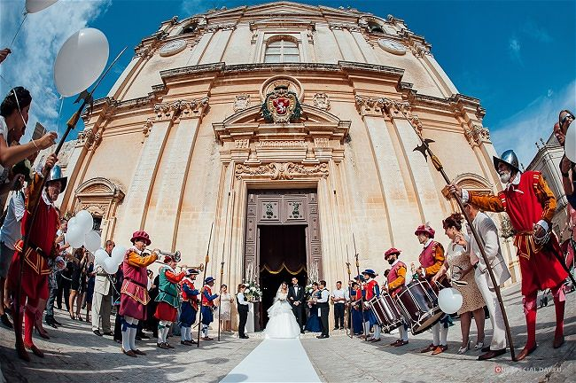 St Paul's Cathedral Mdina Malta Wedding Venue - Malta Destination Wedding Guide | Wed Our Way Wedding Planner Malta
