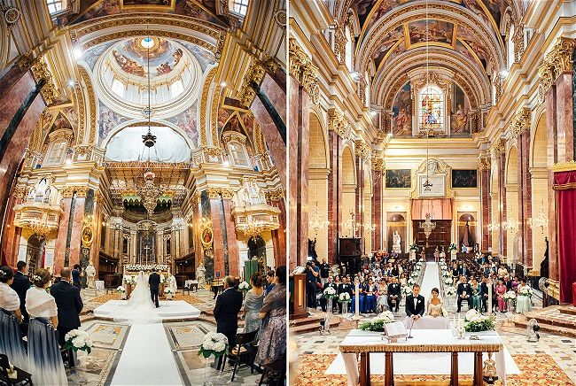 St Paul S Cathedral Mdina Malta Wedding Venue Destination Guide Wed Our Way