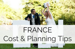 Cost of a wedding in France