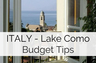 Cost & Budget Tips Lake ComoWedding