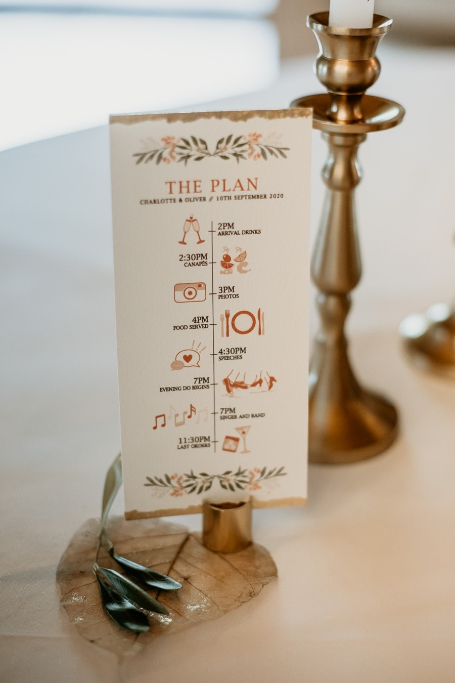 Running Order of the Day - Charlotte & Oliver's Wedding Abroad in Austria | Stressfree Weddings by SandraM | Katrin Kerschbaumer Photography