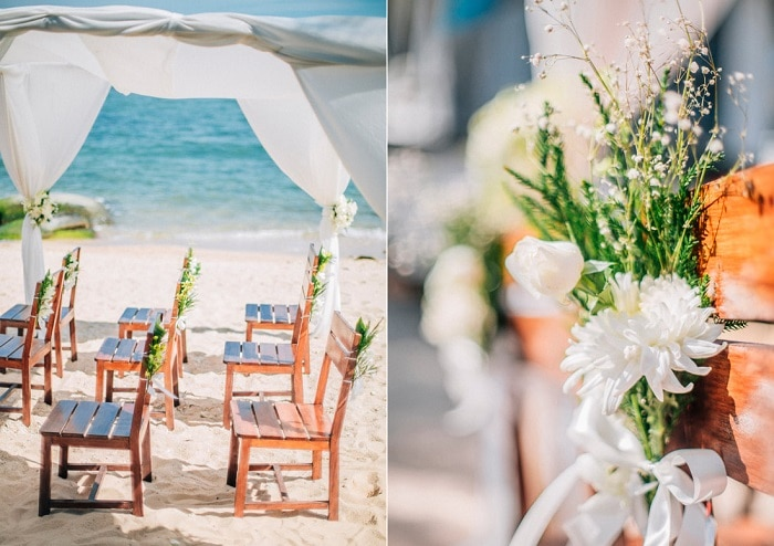 Wedding Beach Samui Wedding Venues Thailand member of the Destination Wedding Directory by Weddings Abroad Guide