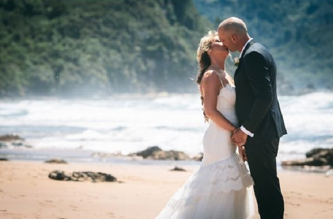 Luke & Della's stunning wedding in New Zealand. by Hayden Phoenix