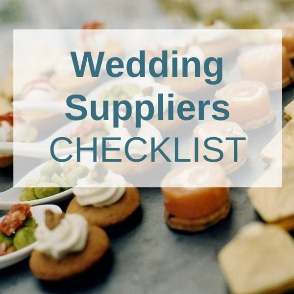 Wedding Abroad Supplier Checklist
