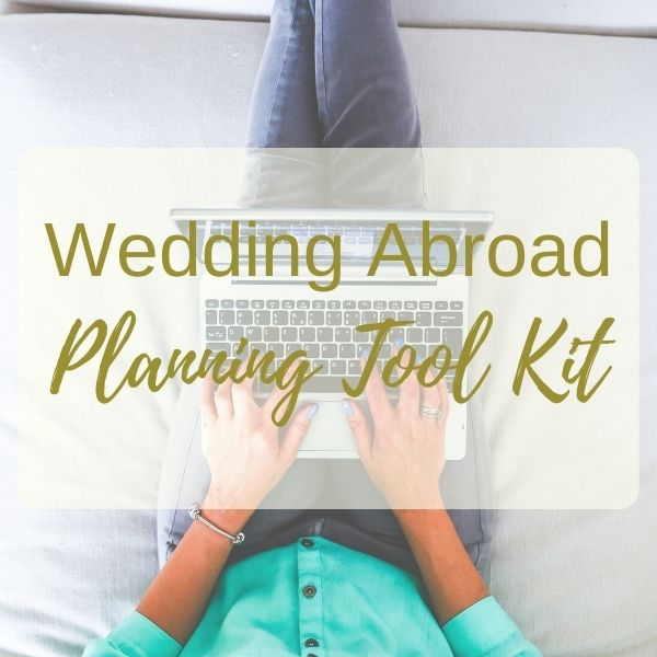 The Ultimate Destination Wedding Planning Tool Kit. Over 30 Checklists, Spreadsheets & Worksheets.