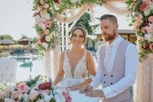 Kandice & James Review |Weddings in North Cyprus | Values Member of Weddings Abroad Guide Supplier Directory