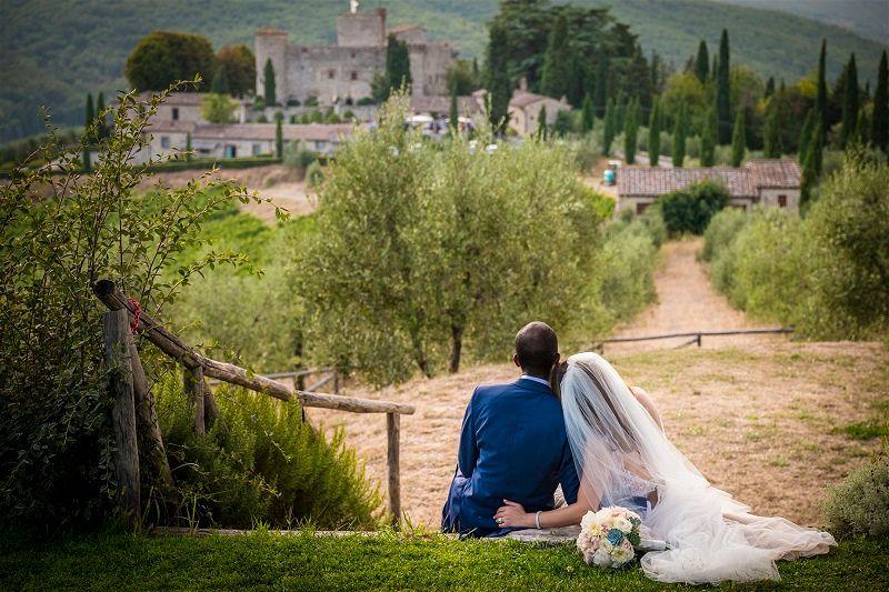 Chiara & Damian's Destination Wedding In Chianti - by WedinItaly Luxury Wedding Planners // Castello di Meleto // Carlo Carletti Photography